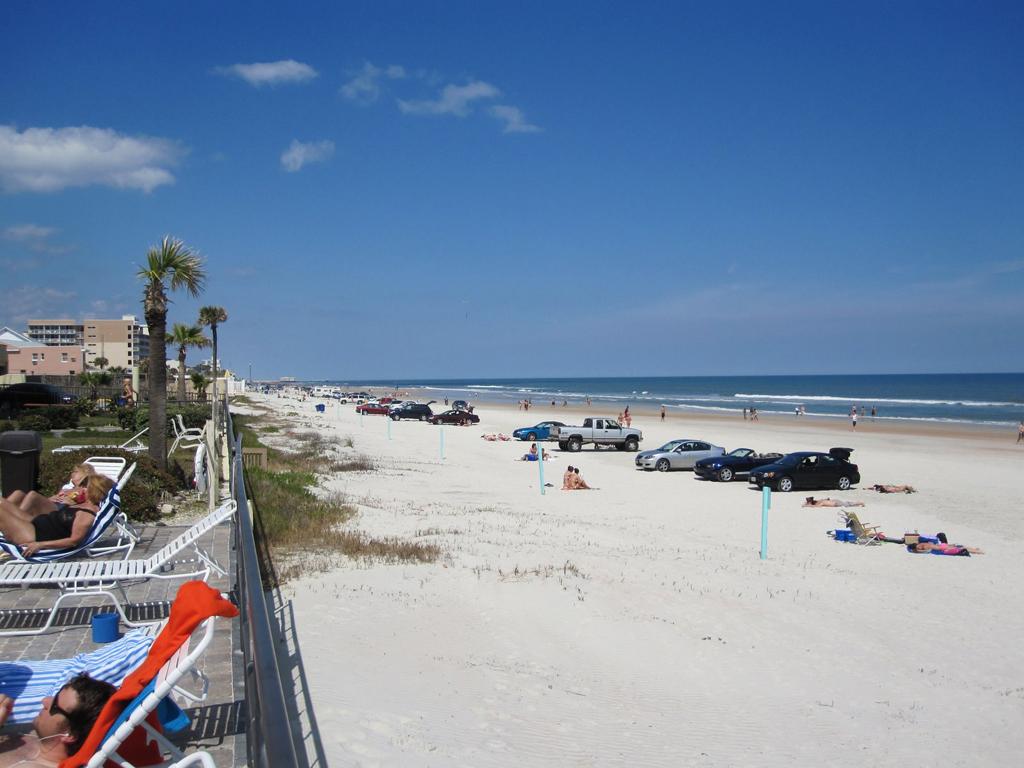 Пляж Дайтона в США, фото 1