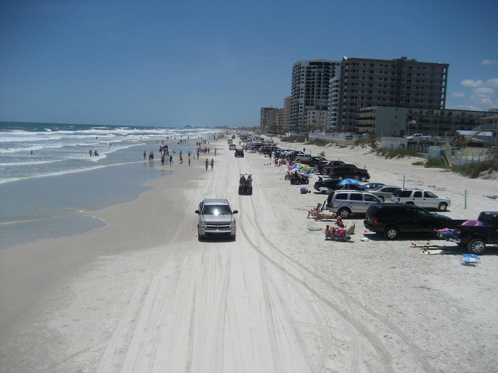 Пляж Дайтона в США, фото 2