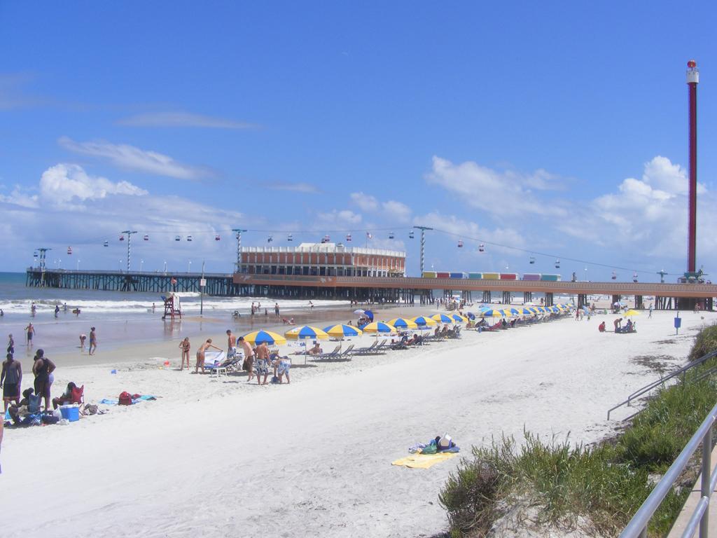 Пляж Дайтона в США, фото 4