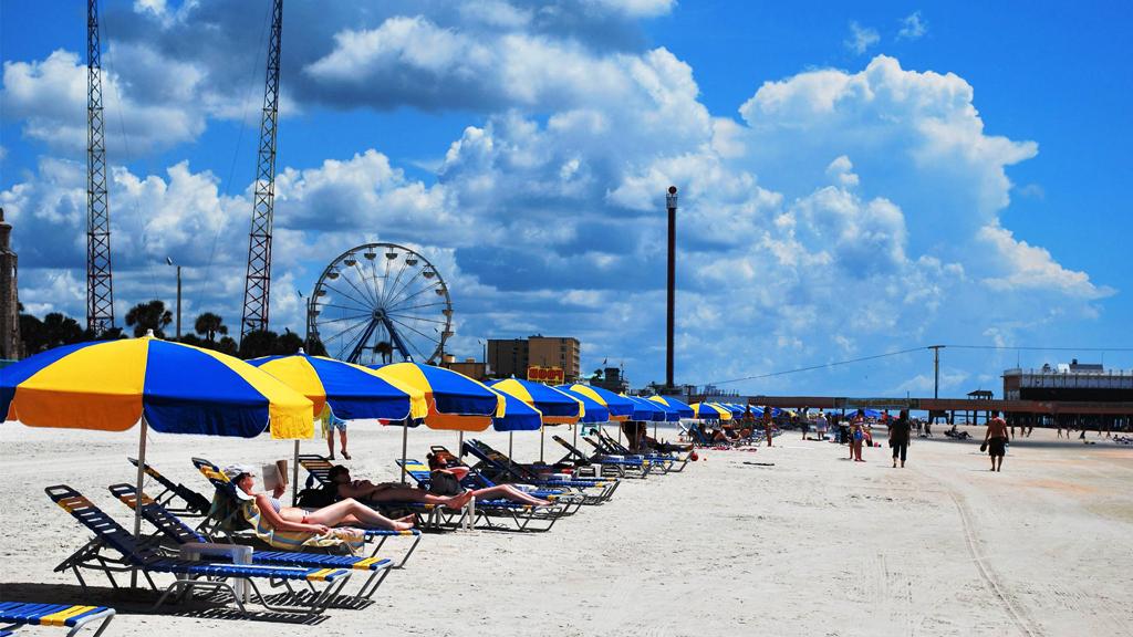 Пляж Дайтона в США, фото 10