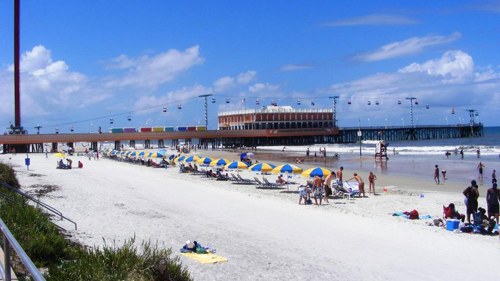 Пляж Дайтона в США, фото 11