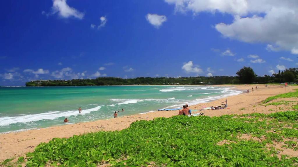 Пляж Ганалеи Бэй в США, фото 3