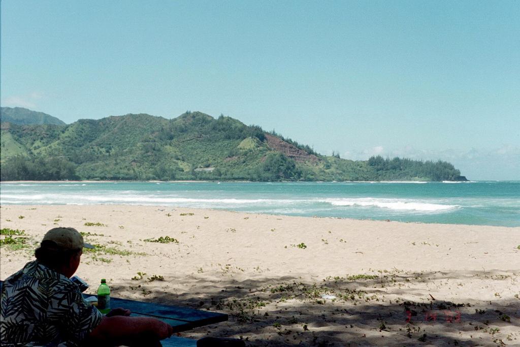 Пляж Ганалеи Бэй в США, фото 5