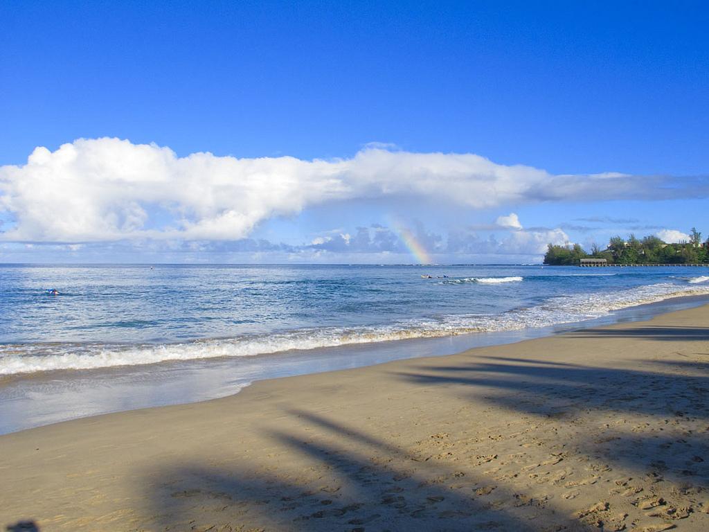 Пляж Ганалеи Бэй в США, фото 6