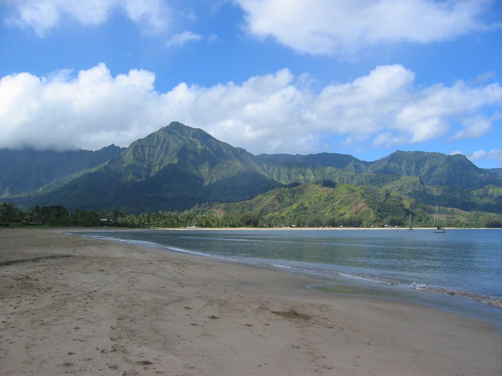 Пляж Ганалеи Бэй в США, фото 8