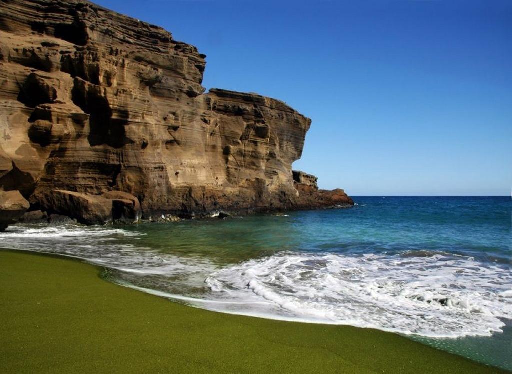 Пляж Грин Сэнд в США, фото 6