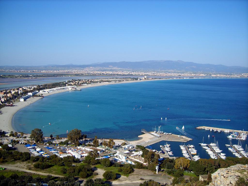 Пляж Кальяри в Италии, фото 7
