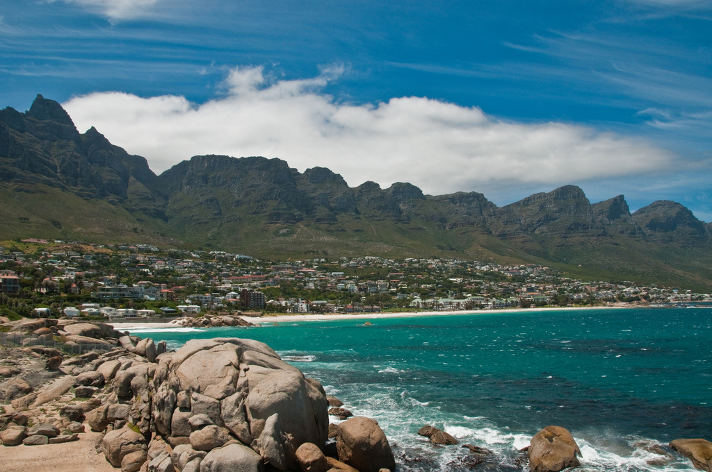 Пляж Кампс Бэй в ЮАР-е, фото 7