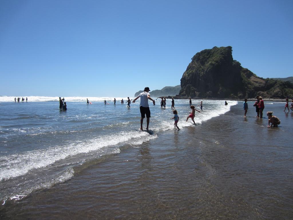 Пляж Карекаре в Новой Зеландии, фото 6
