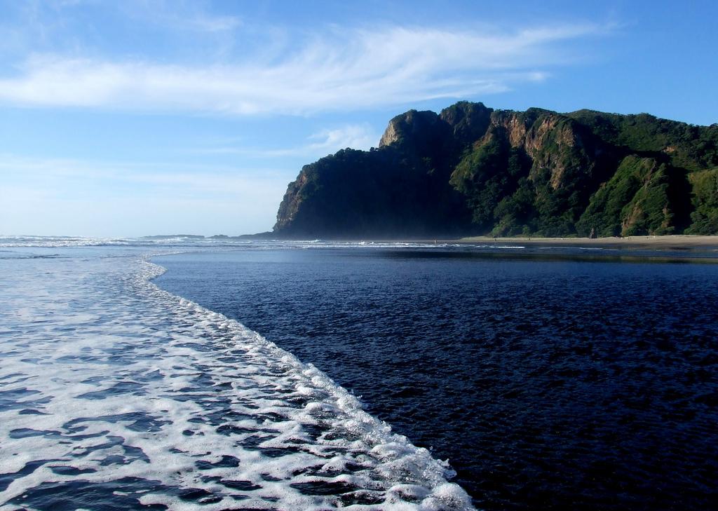 Пляж Карекаре в Новой Зеландии, фото 7