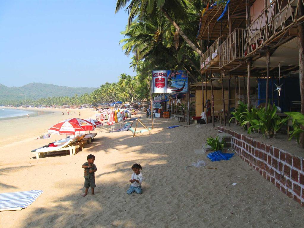 Пляж Конакона в Индии, фото 1