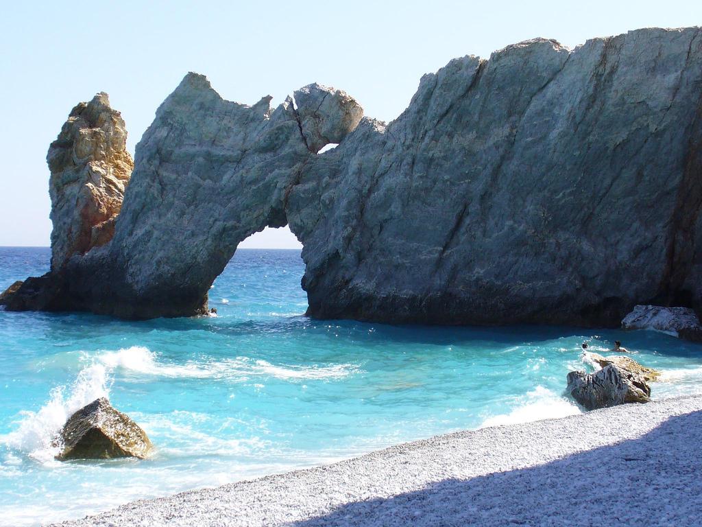 Пляж Лалария в Греции, фото 3