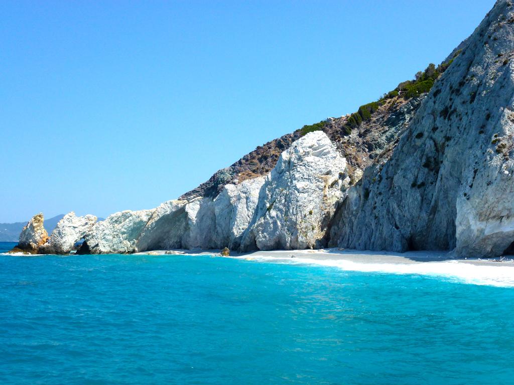 Пляж Лалария в Греции, фото 4