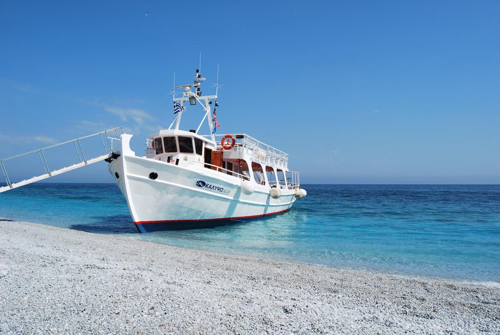 Пляж Лалария в Греции, фото 7