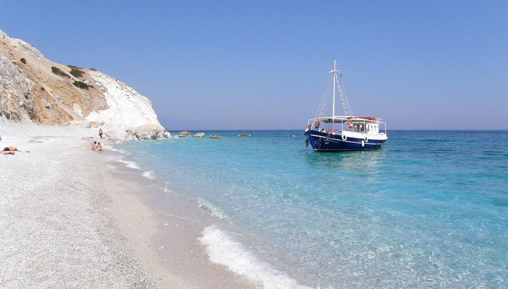 Пляж Лалария в Греции, фото 9