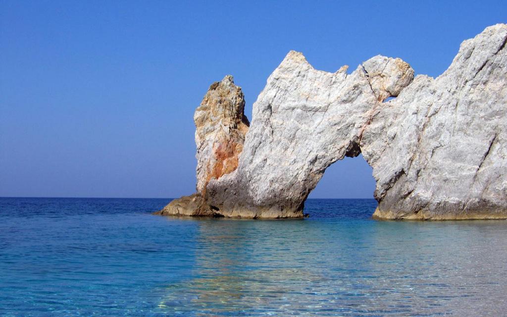 Пляж Лалария в Греции, фото 11