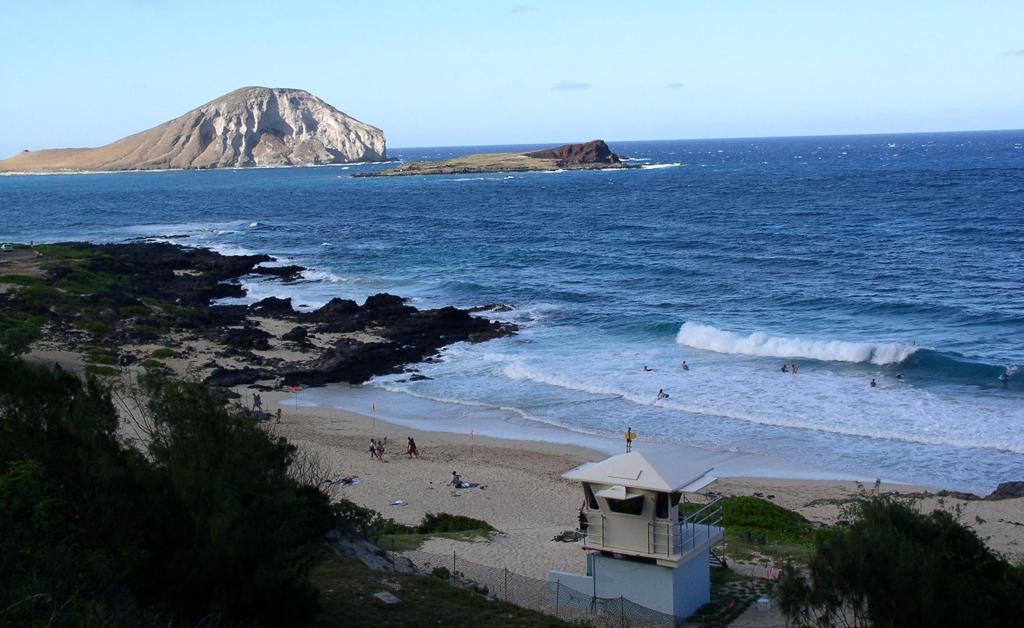 Пляж Макапуу в США, фото 1
