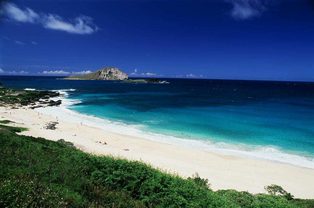 Пляж Макапуу в США, фото 6