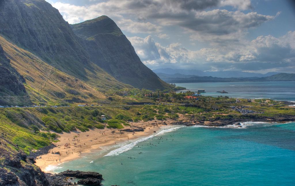 Пляж Макапуу в США, фото 7