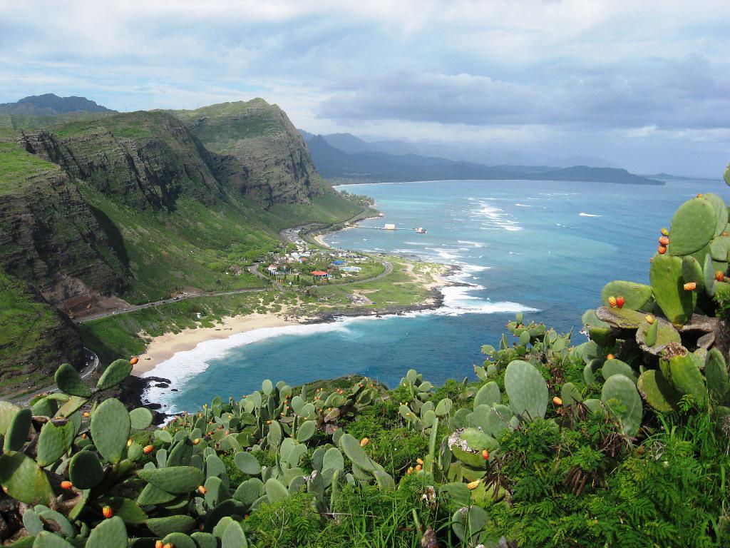 Пляж Макапуу в США, фото 9
