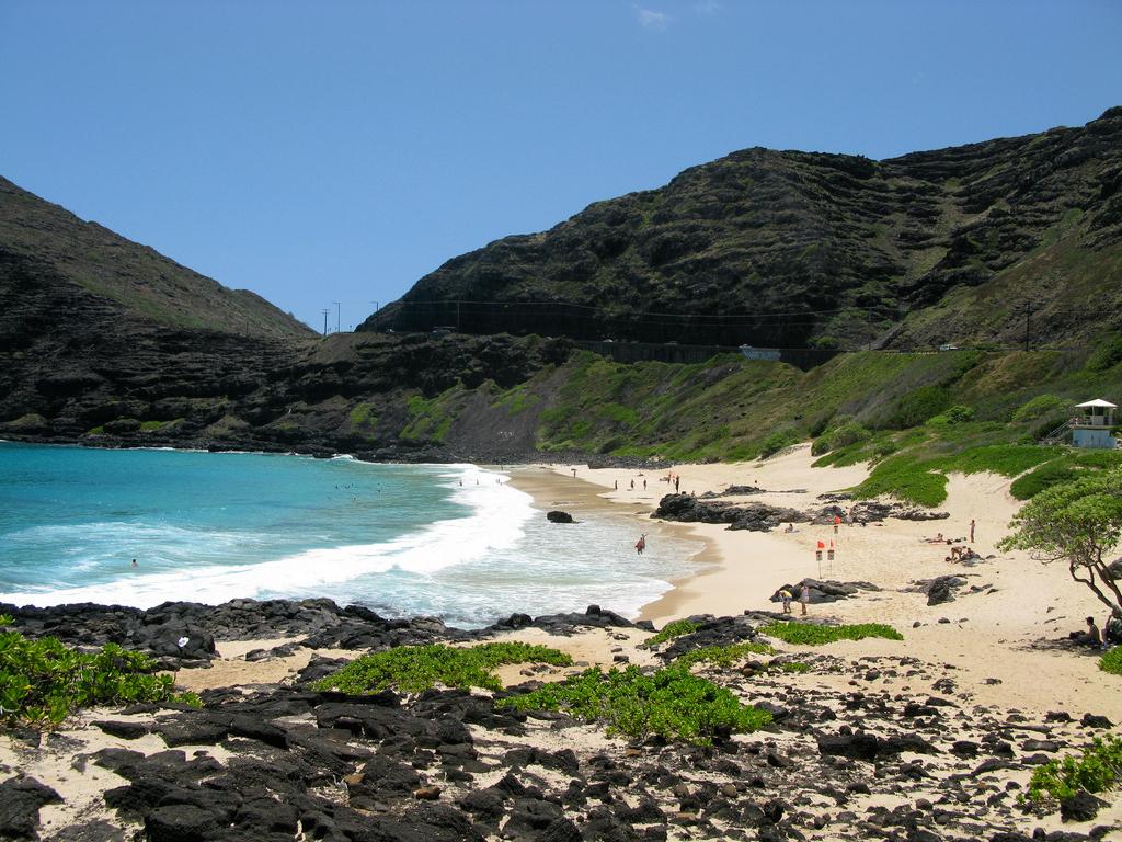 Пляж Макапуу в США, фото 10