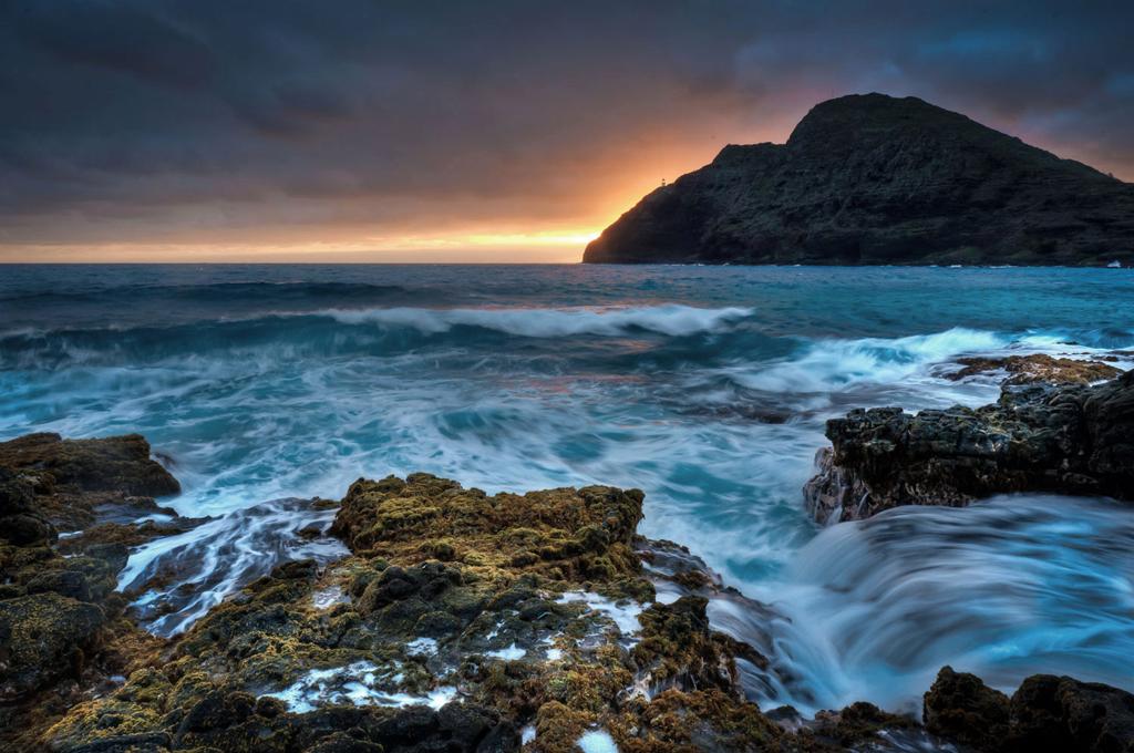 Пляж Макапуу в США, фото 14