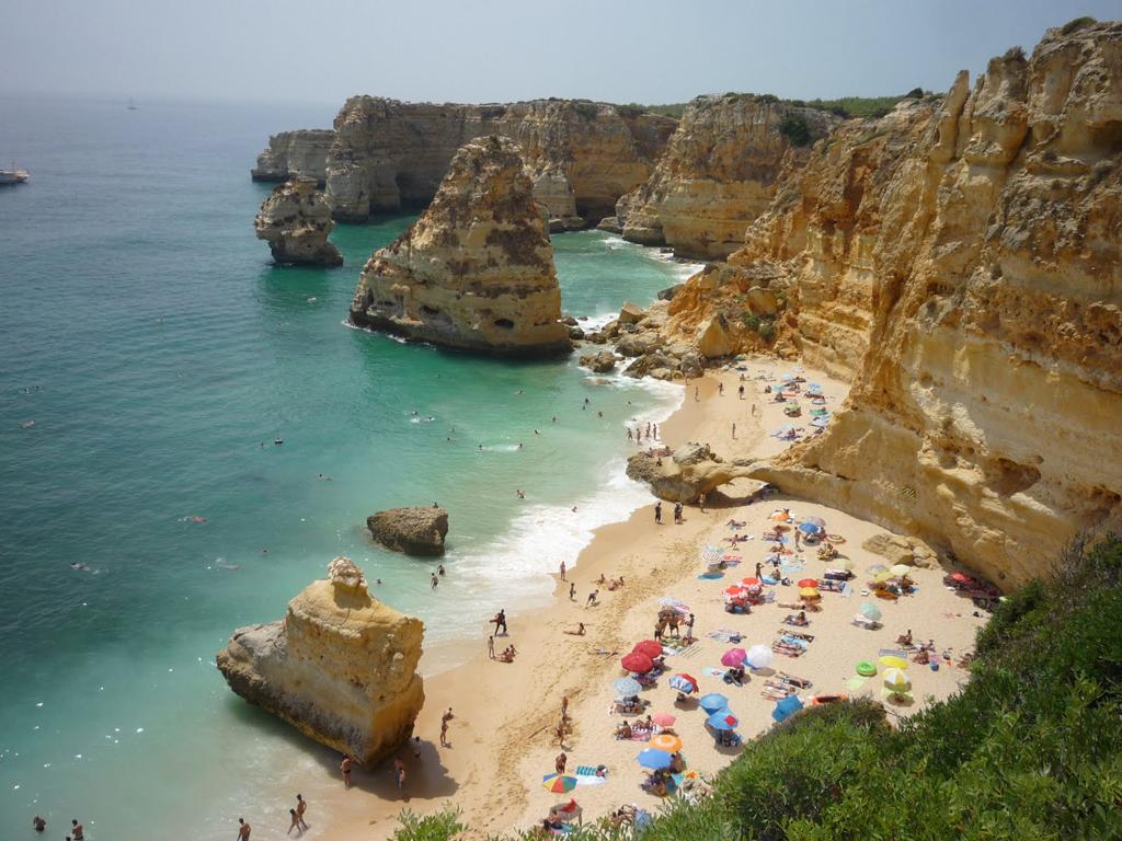 Пляж Маринья в Португалии, фото 3