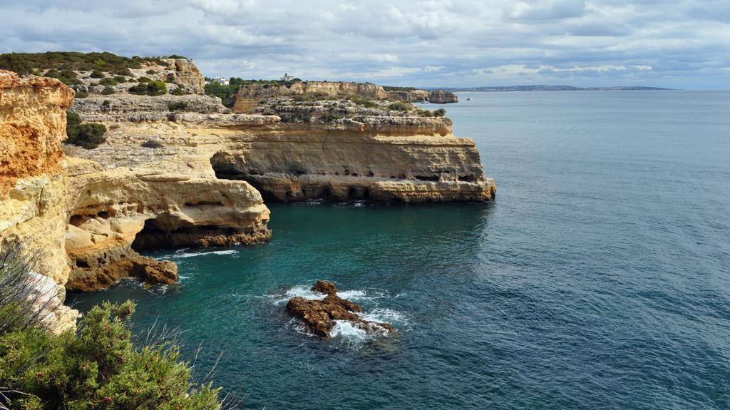 Пляж Маринья в Португалии, фото 4