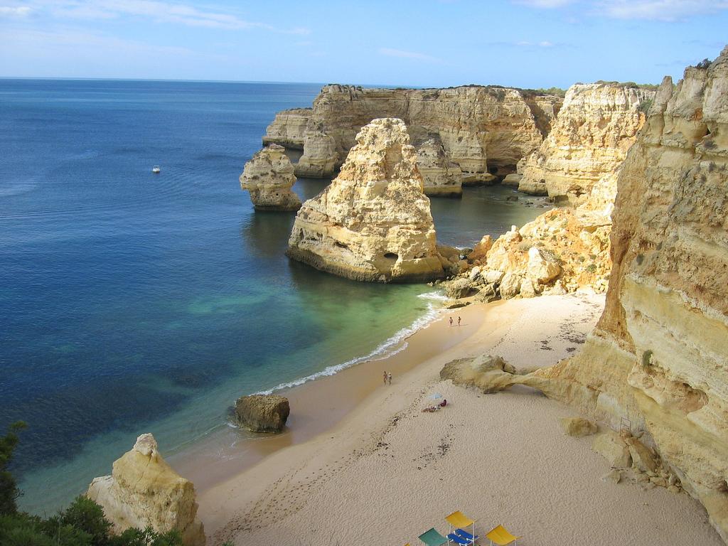 Пляж Маринья в Португалии, фото 6