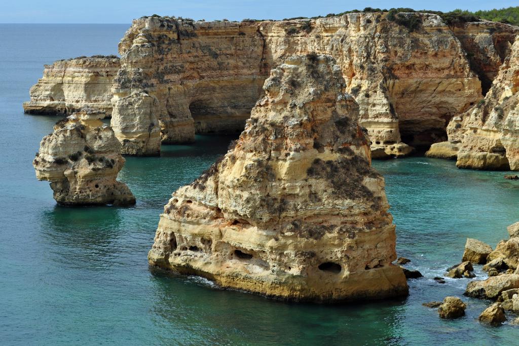 Пляж Маринья в Португалии, фото 7