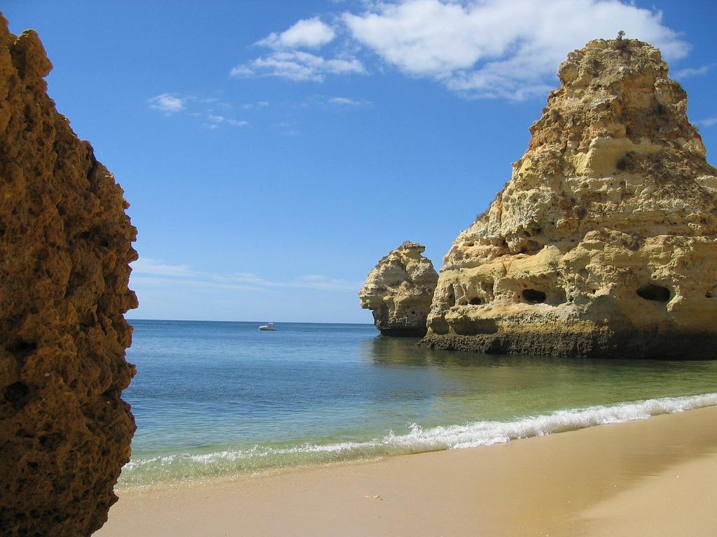 Пляж Маринья в Португалии, фото 8