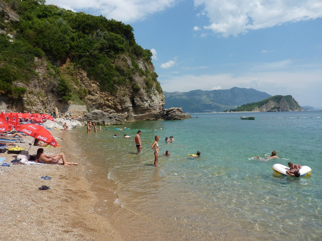 Пляж Могрен в Черногории, фото 1