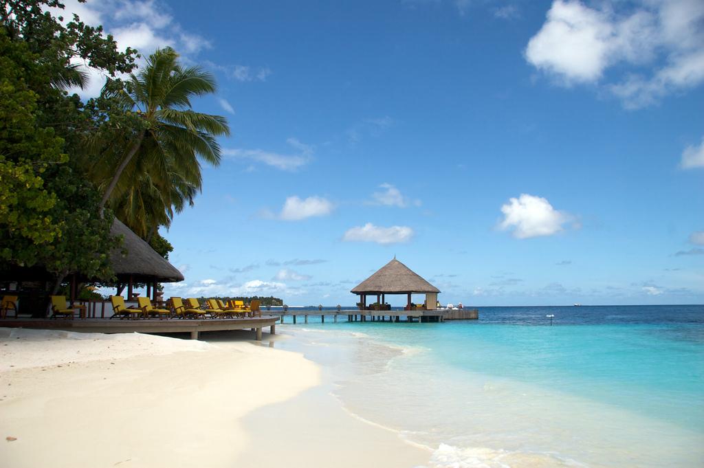 Пляж острова Ихуру на Мальдивах, фото 3