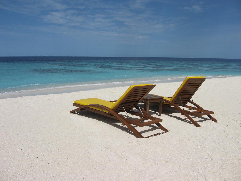 Пляж острова Ихуру на Мальдивах, фото 5