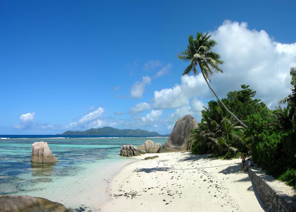 Пляж острова Ла Диг на Сейшельских островах, фото 1