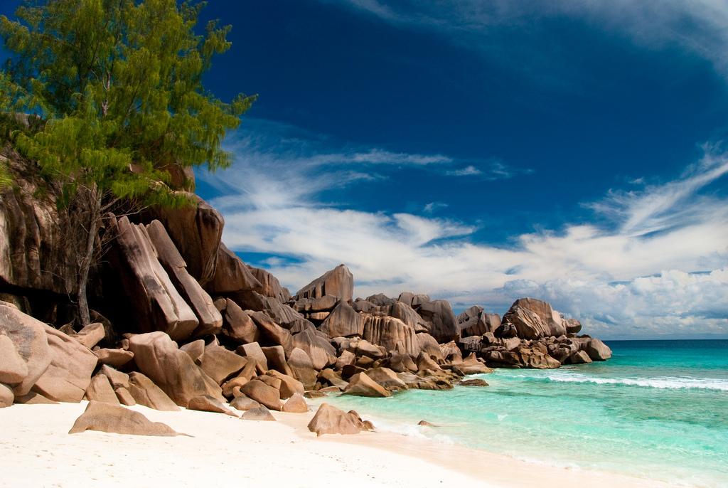 Пляж острова Ла Диг на Сейшельских островах, фото 2
