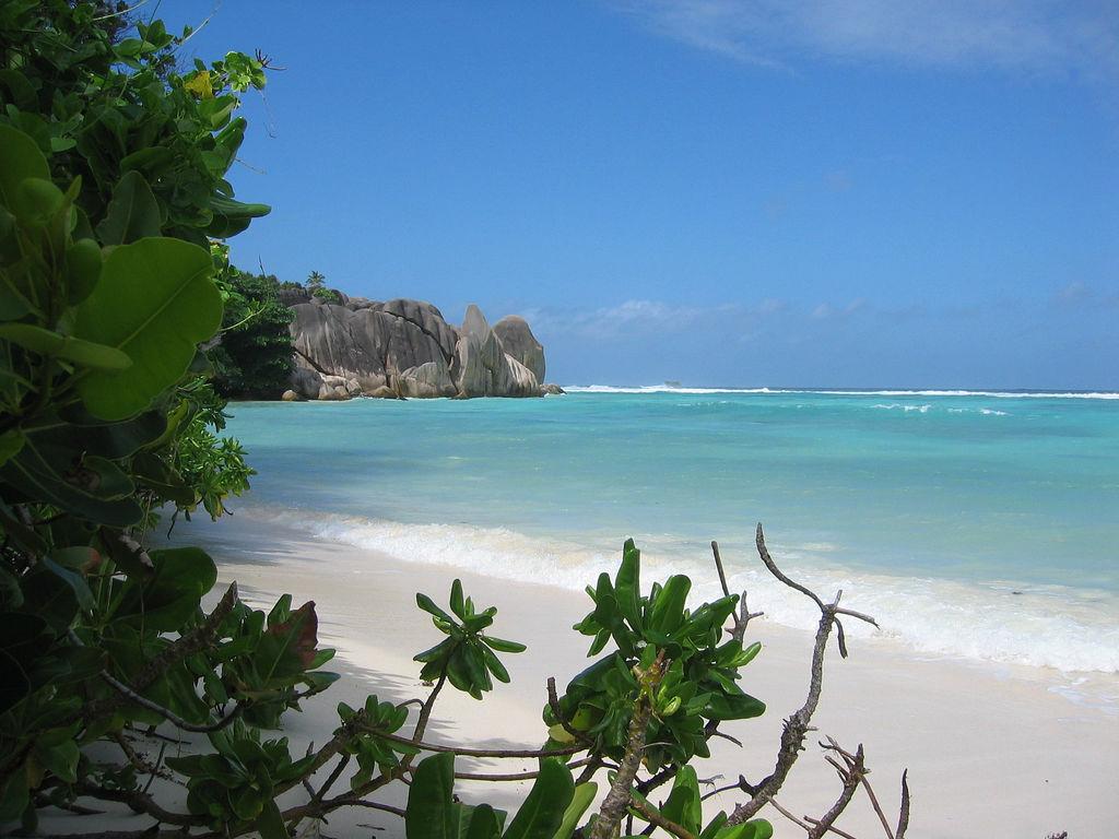 Пляж острова Ла Диг на Сейшельских островах, фото 6