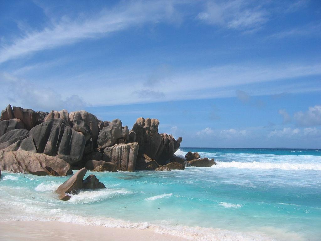 Пляж острова Ла Диг на Сейшельских островах, фото 7