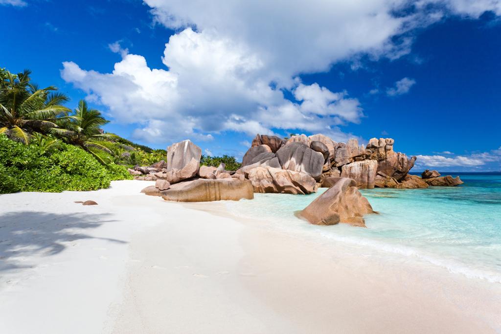 Пляж острова Ла Диг на Сейшельских островах, фото 8