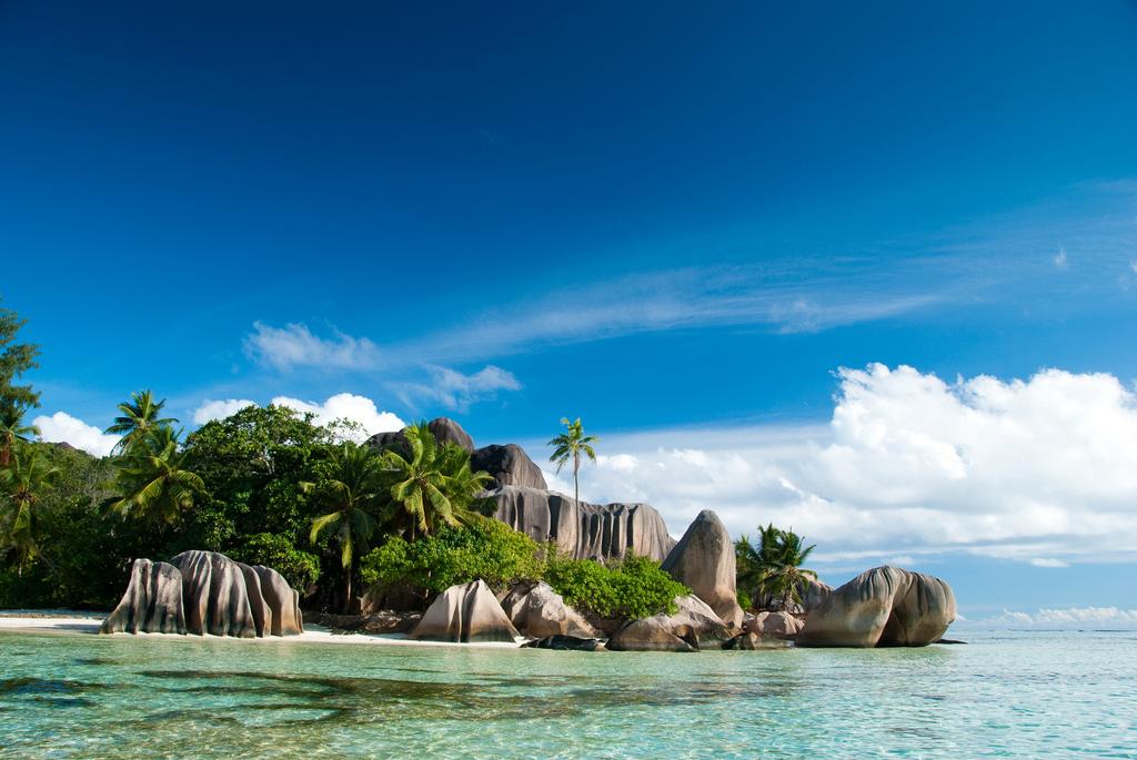 Пляж острова Ла Диг на Сейшельских островах, фото 9