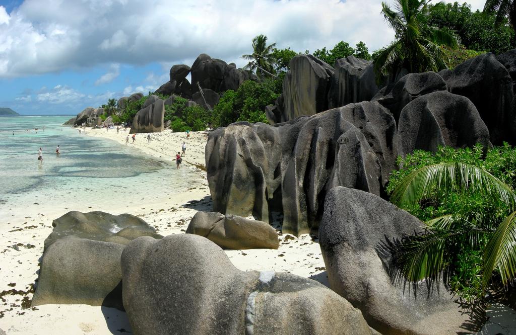 Пляж острова Ла Диг на Сейшельских островах, фото 11