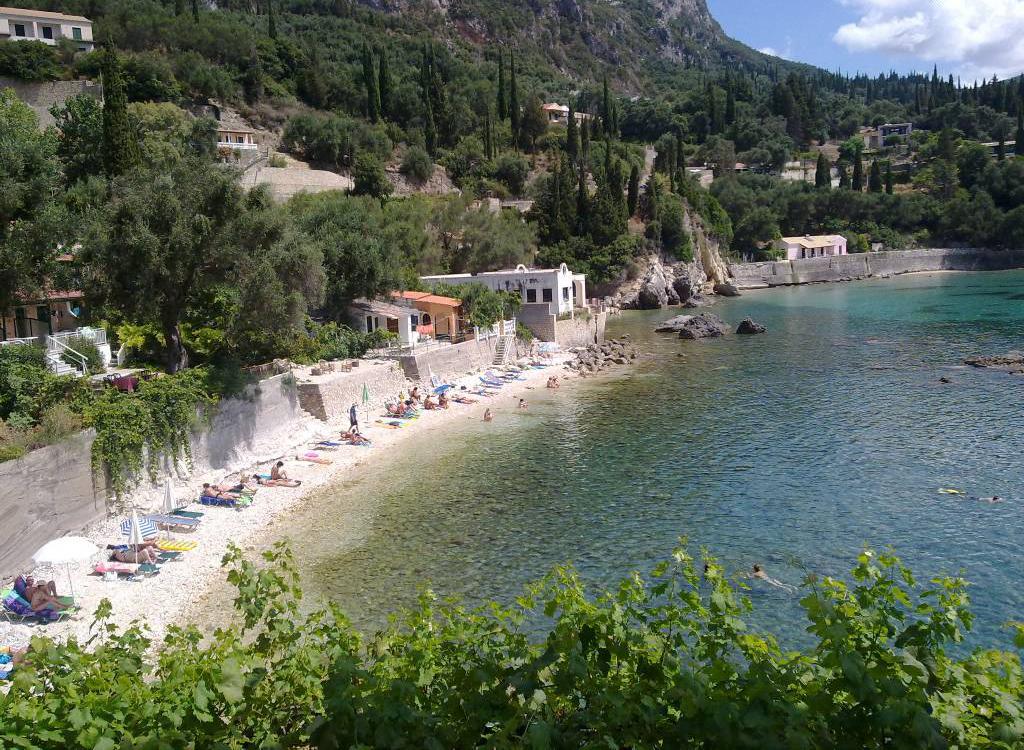 Пляж Палеокастрицы в Греции, фото 3