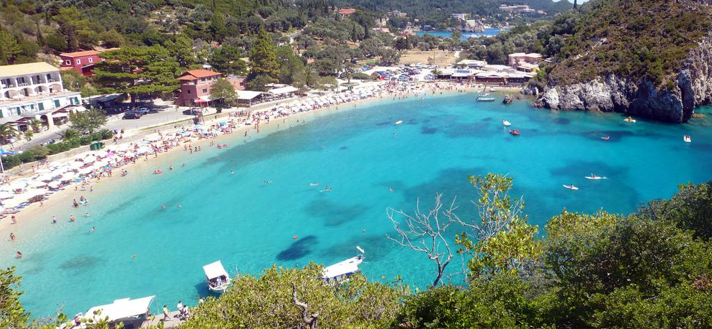 Пляж Палеокастрицы в Греции, фото 6