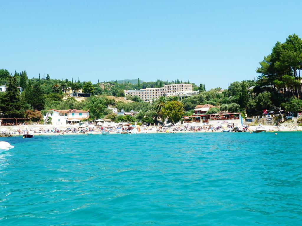 Пляж Палеокастрицы в Греции, фото 7