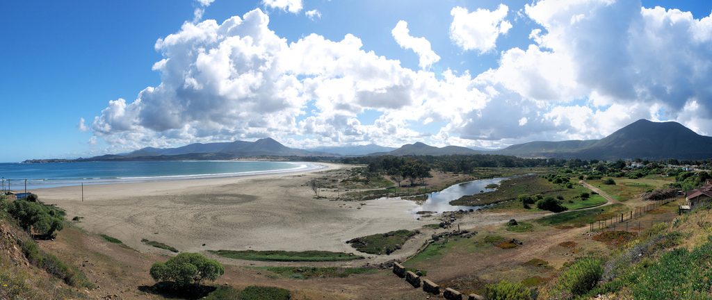 Пляж Пичидангуи в Чили, фото 4