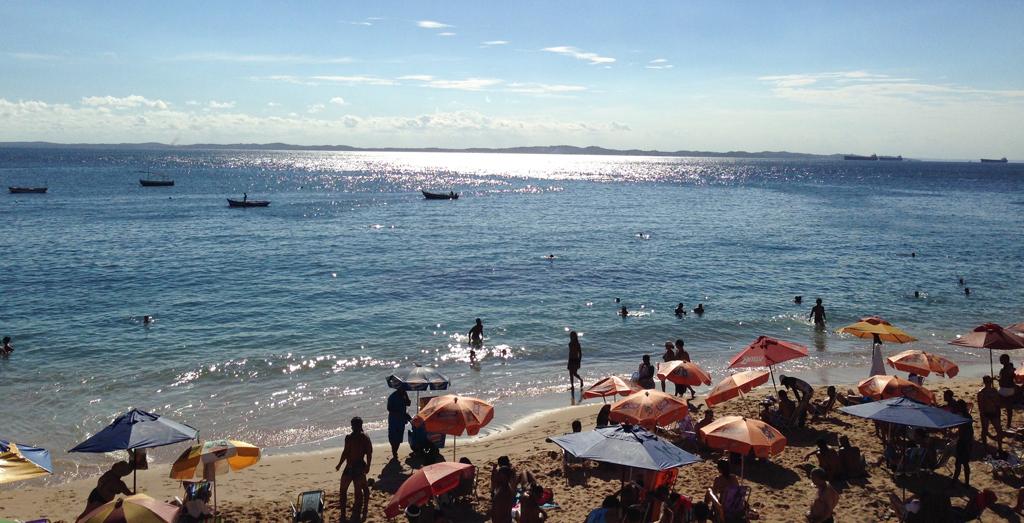 Пляж Порто да Барра в Бразилии, фото 1