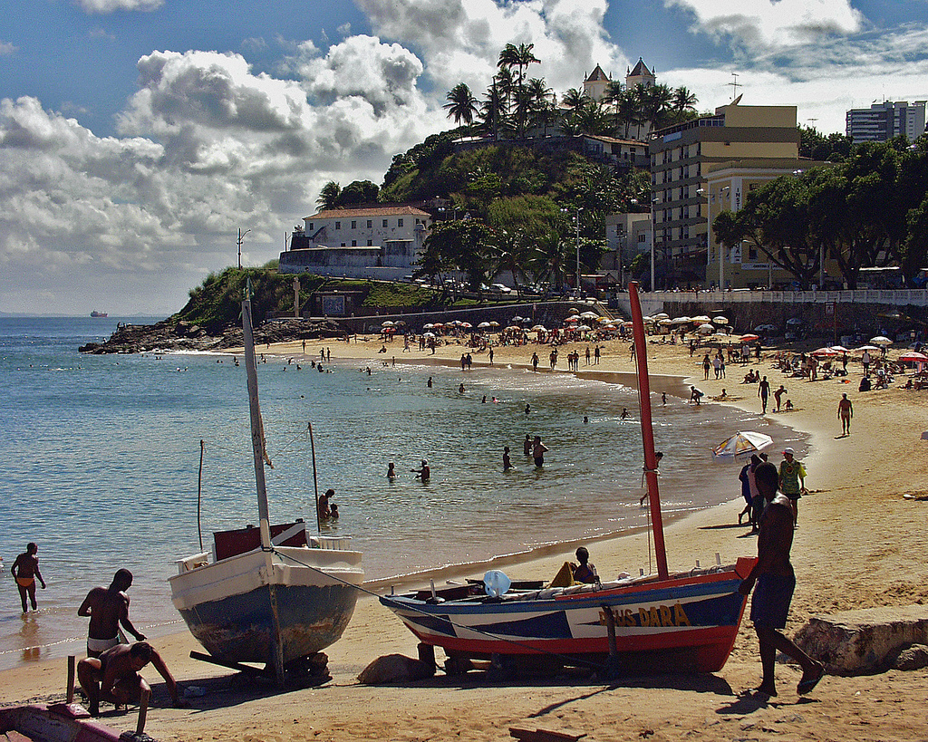 Пляж Порто да Барра в Бразилии, фото 2