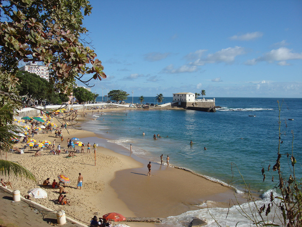 Пляж Порто да Барра в Бразилии, фото 4