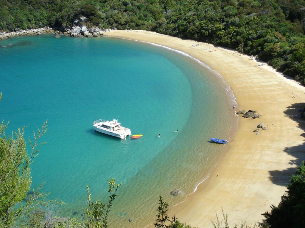 Пляж Тасман Бэй в Новой Зеландии, фото 1