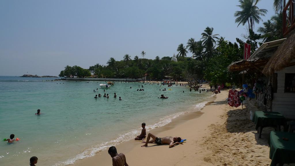 Пляж Унаватуна в Шри-Ланке, фото 6